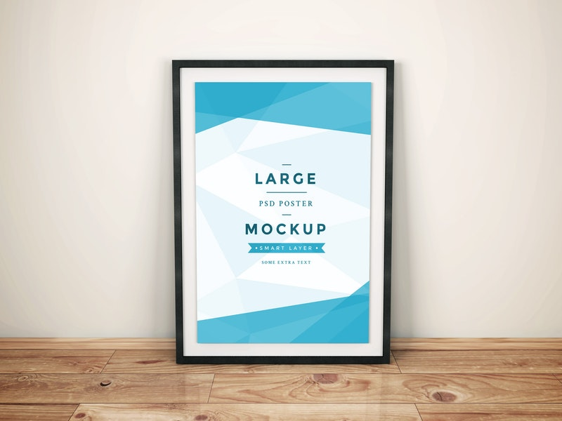 Artwork Frame PSD Mockup Vol.4 preview