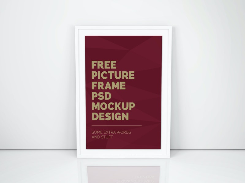 Artwork Frame PSD Mockup Vol.5 preview