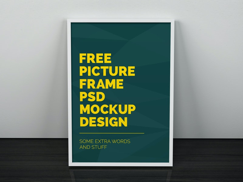 Artwork Frame PSD Mockup preview