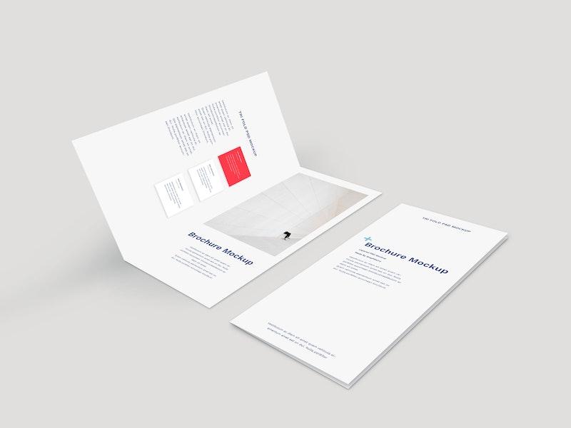 Bi-Fold Brochure Mockup preview
