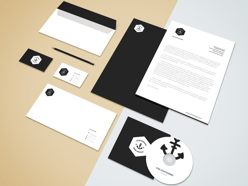 Branding-Stationery Mockup Vol.5 preview