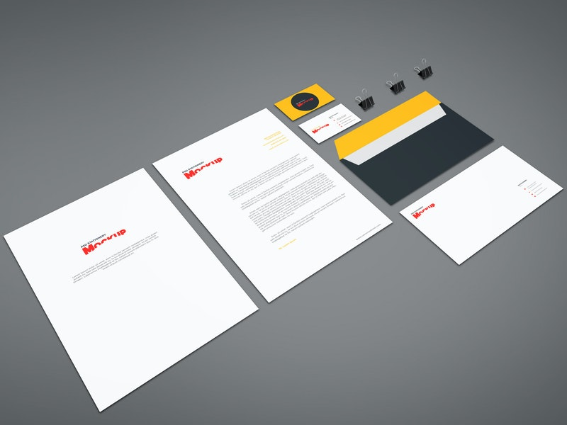 Branding Stationery Mockup Vol.8 preview