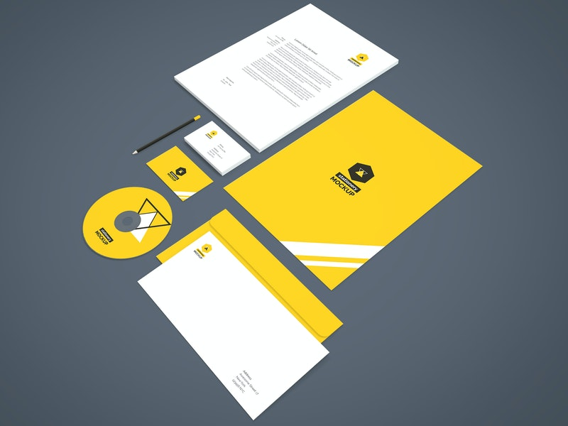 Branding-Stationery Mockup Vol.2 preview