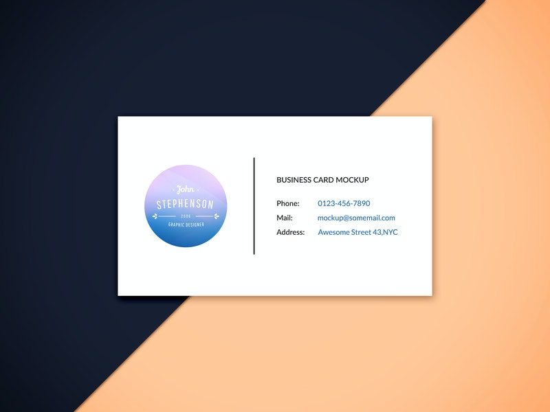 Business Card Mockup Vol.6 preview