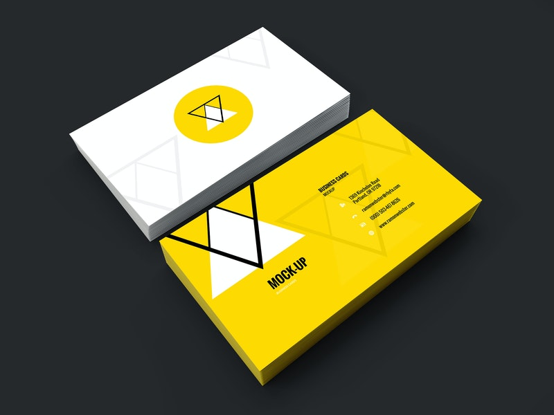 Business Card Mockup Vol.7 preview