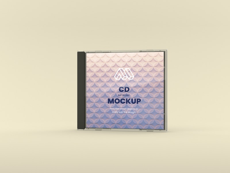CD Artwork PSD Mockup preview
