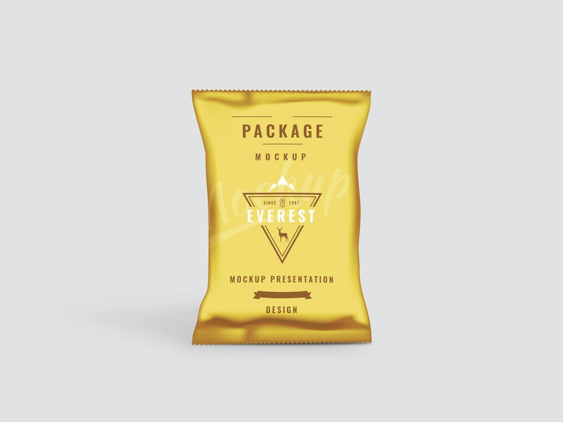 Chips Bag PSD Mockup preview