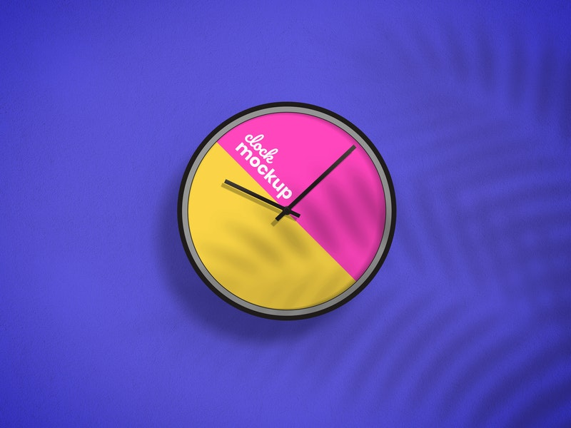 Clock Design Mockup preview