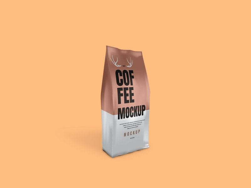 Coffee Bag Psd Mockup Graphberry Com