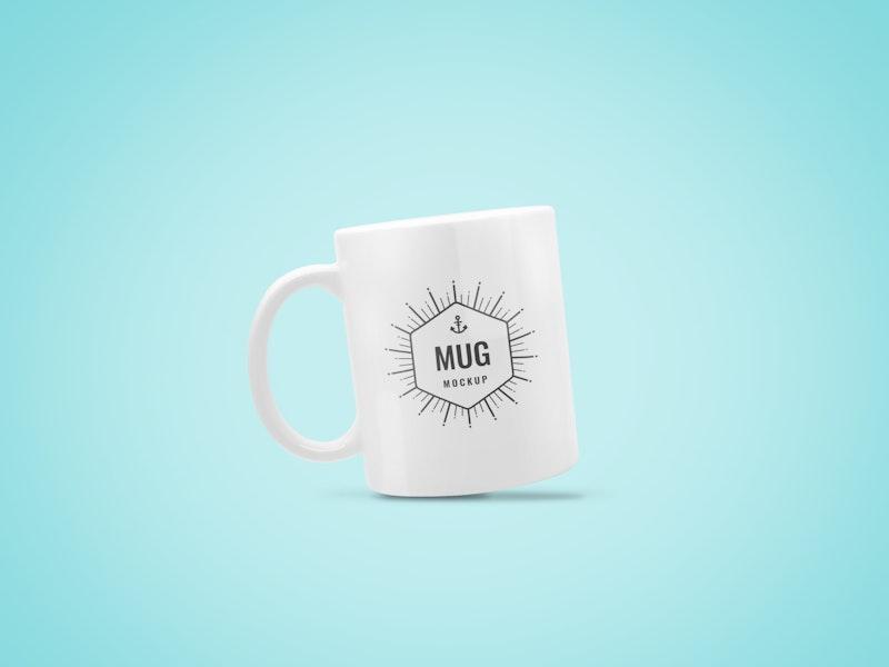 Coffee Mug PSD Mockup preview