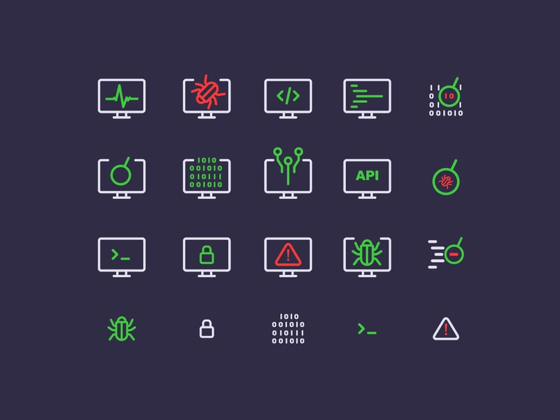 Computer Security Icons preview