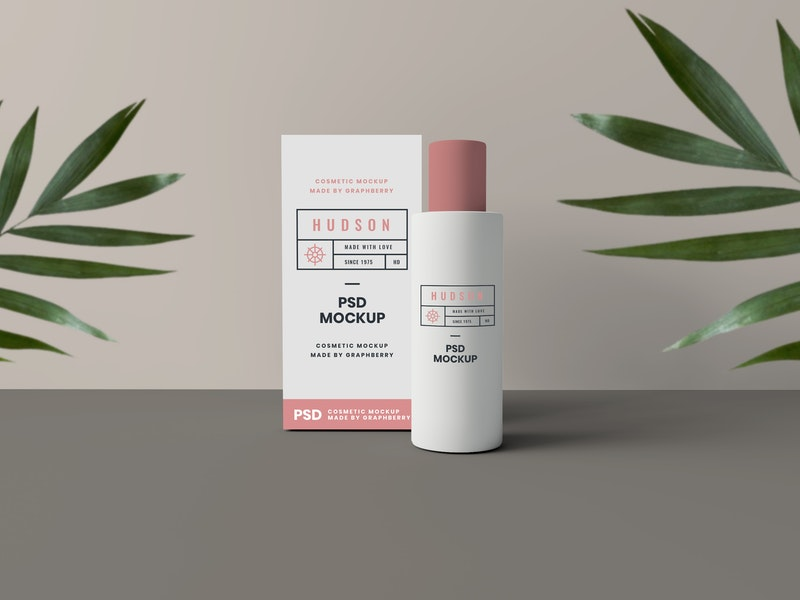 Cosmetics Packaging Mockup preview