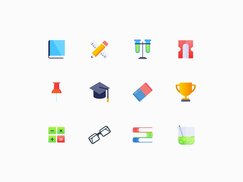 Education Vector Icons preview