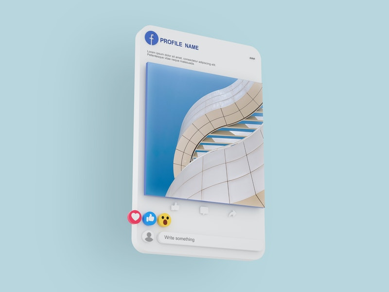 Facebook Post PSD Mockup preview