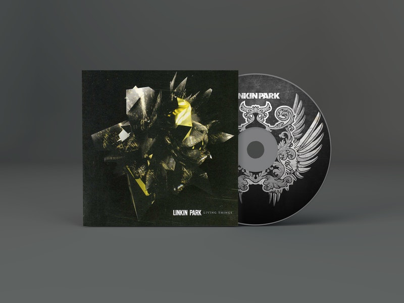 CD Artwork Mockup preview