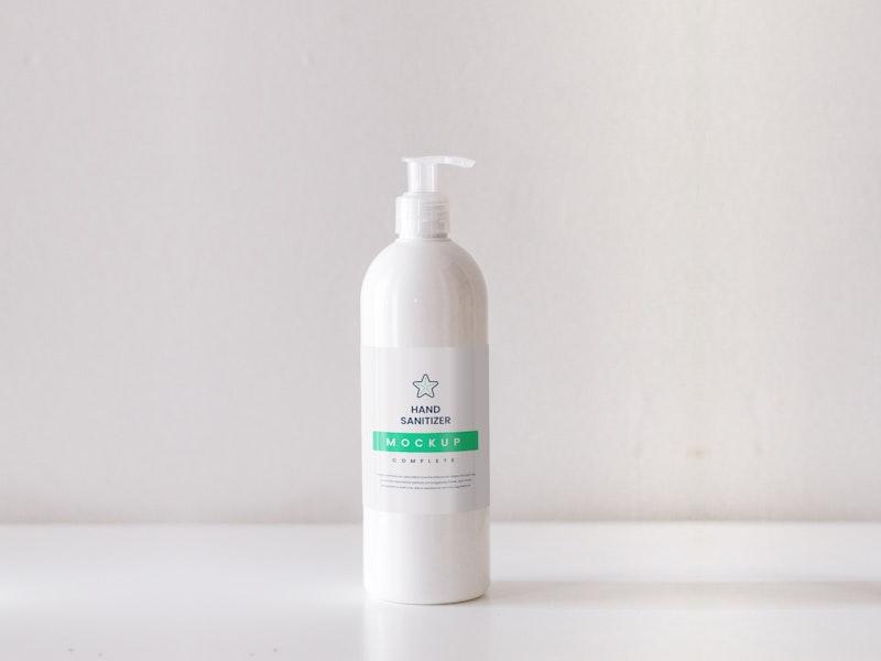 Hand Sanitizer PSD Mockup preview