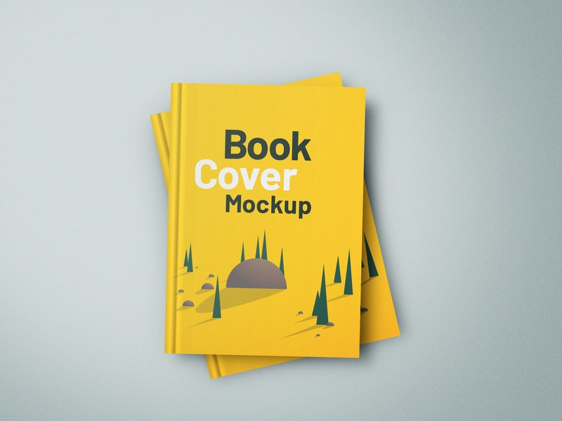 Hardcover Book Mockup preview