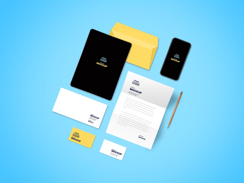 Identity Branding Mockup preview