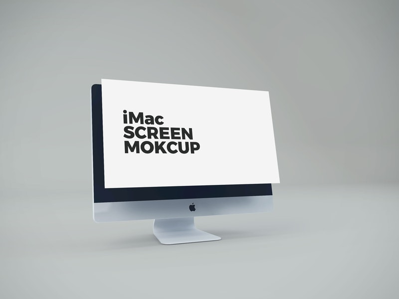 iMac Screen Mockup preview