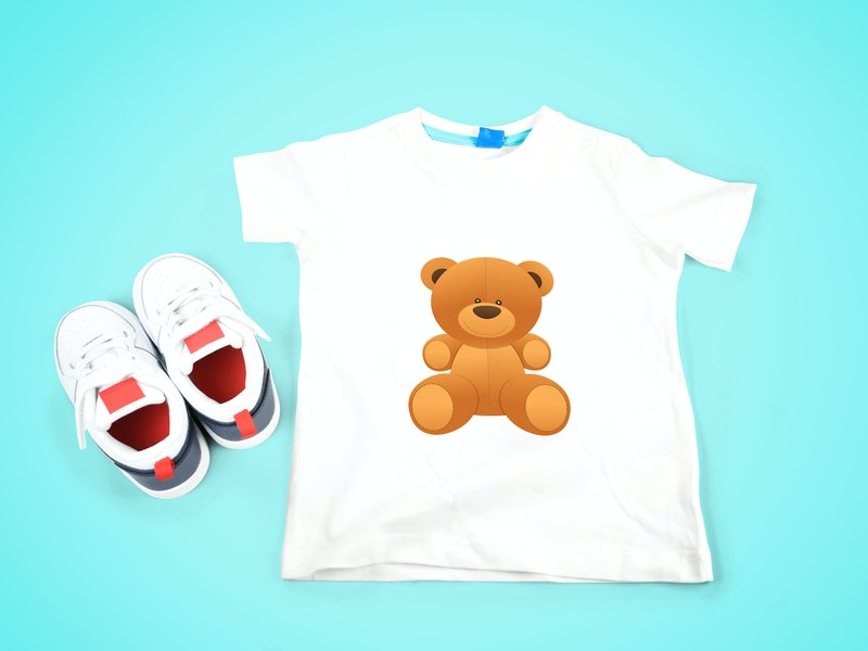 Kids T-Shirt Mockup preview