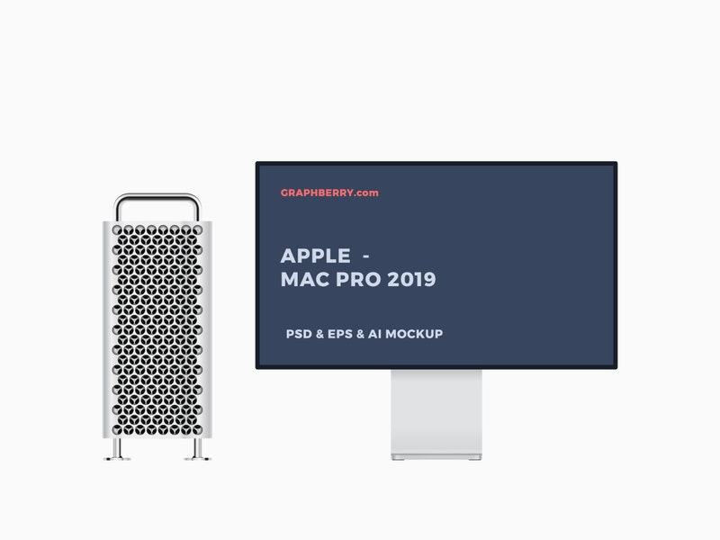 Mac Pro 2019 Mockup preview