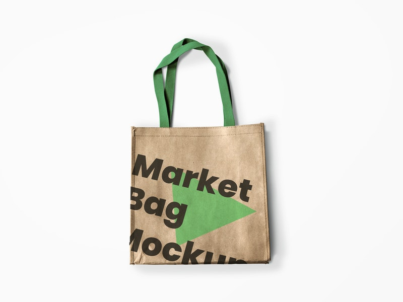 Reusable Market Bag Mockup preview