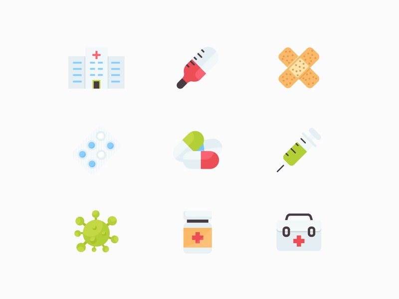 Medicine Vector Icons preview