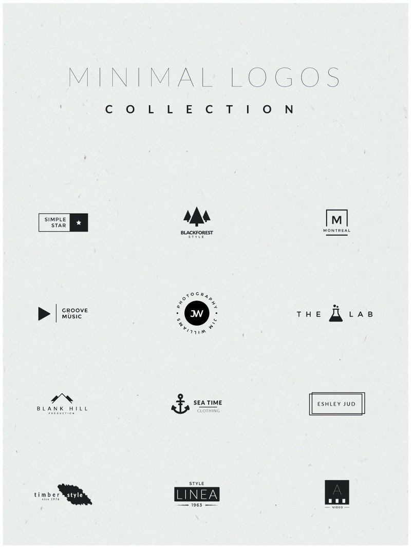 Minimal Logos Collection preview