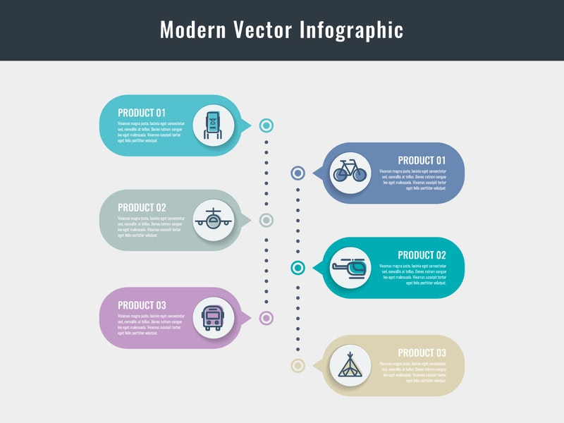 Modern Vector Infographic Elements preview