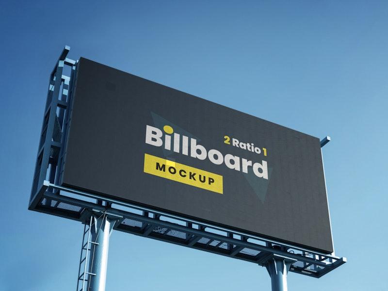 Outdoor Billboard Mockup preview