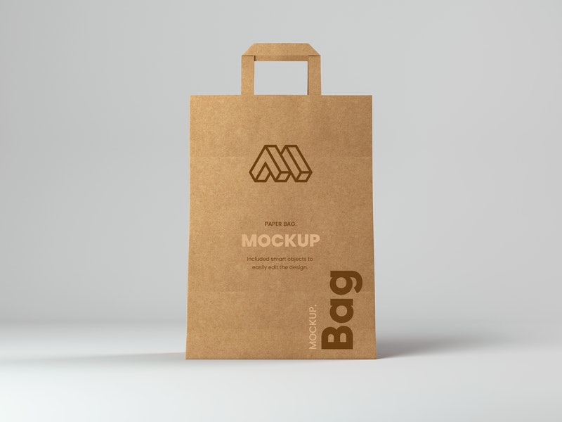 Shopping Paper Bag Mockup preview