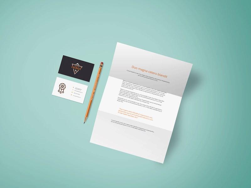Simple Branding Design Mockup preview