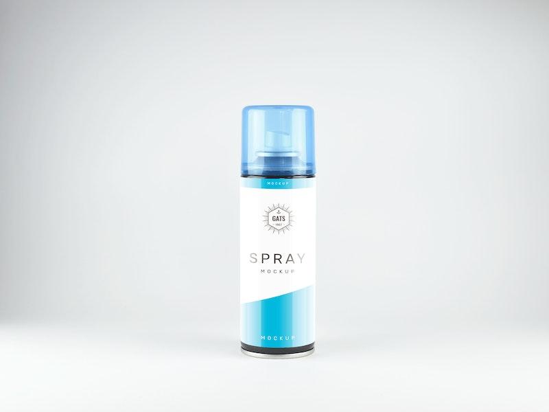 Spray Bottle Mockup preview