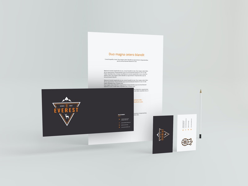 Stationary Standing Mockup preview