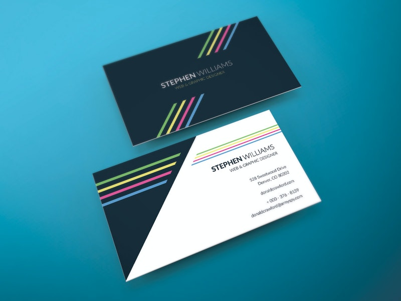 Two Side Print Ready Business Card preview