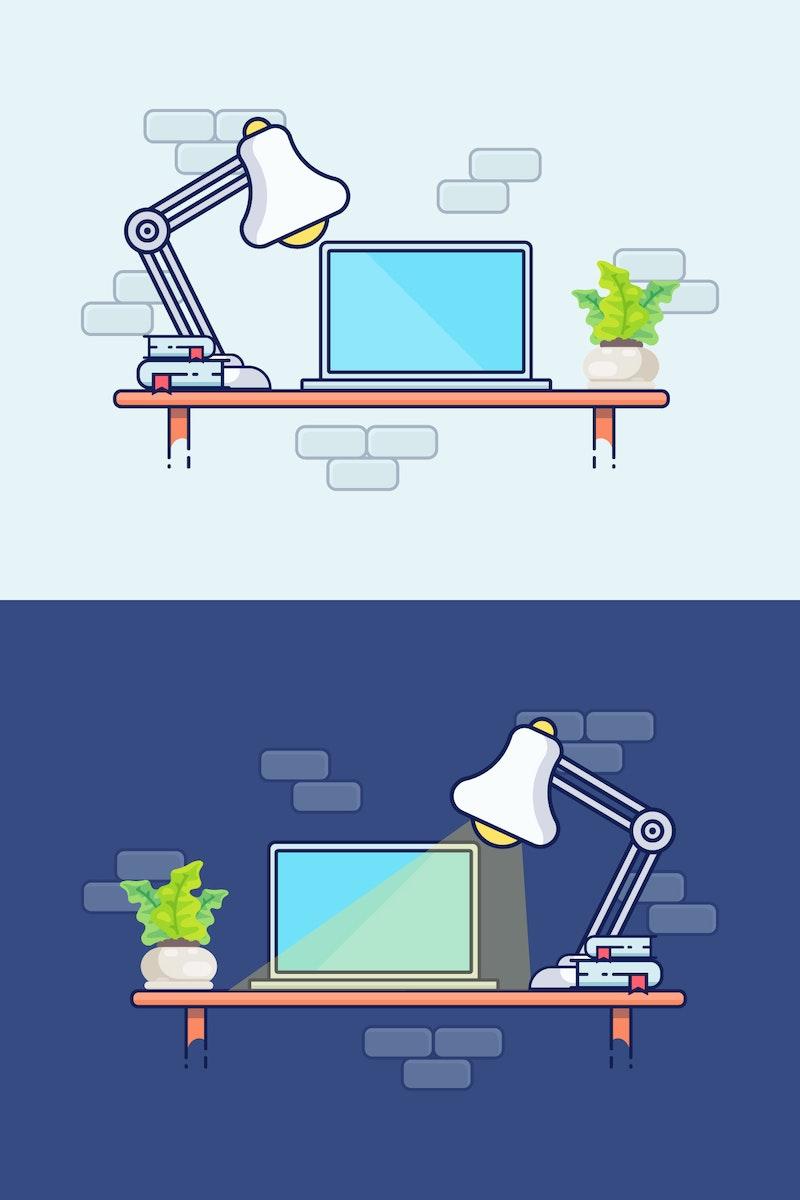 Vector Desktop Illustration preview