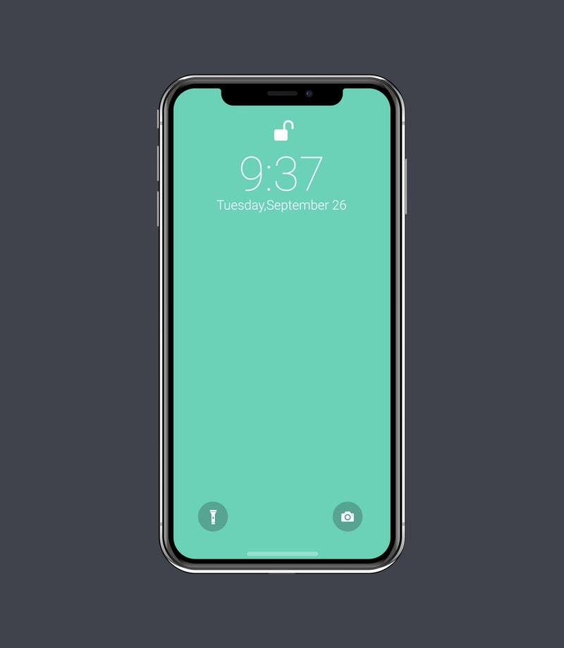 Vector iPhone X Mockup preview