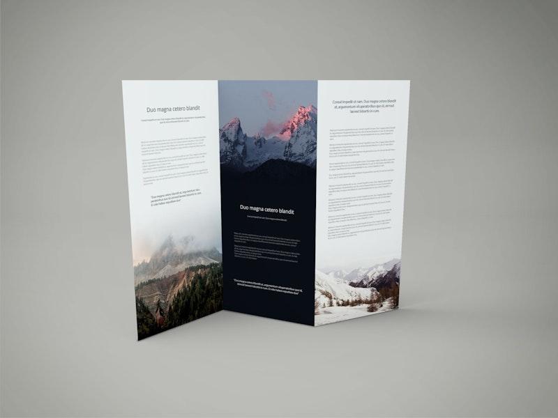 Z Fold PSD Mockup preview